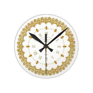Reloj Redondo Mediano Aniversario ordenado jubileo de oro de la MONJA