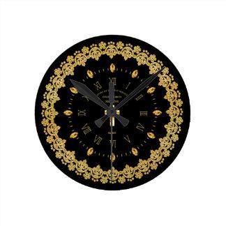 Reloj Redondo Mediano Aniversario ordenado jubileo de oro del sacerdote