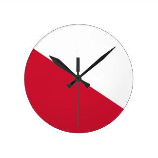 Reloj Redondo Mediano Bandera de Utrecht (ciudad)