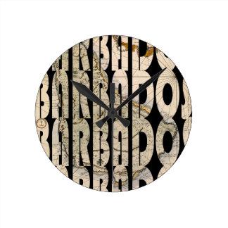 Reloj Redondo Mediano barbados1758