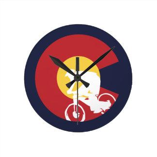 Reloj Redondo Mediano Bici de montaña Colorado