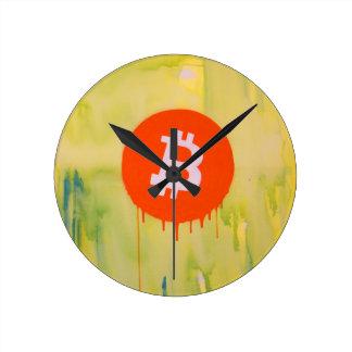Reloj Redondo Mediano Bitcoin