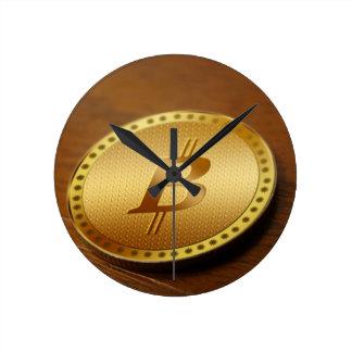 Reloj Redondo Mediano Bitcoin 2