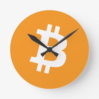 Reloj Redondo Mediano Bitcoin - Cryptocurrency Alliance