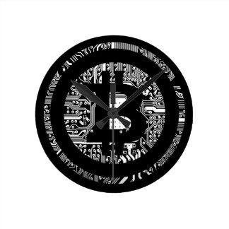 Reloj Redondo Mediano Bitcoin - el Internet del dinero