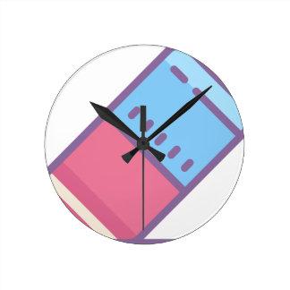 Reloj Redondo Mediano Borrador