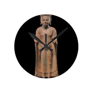 Reloj Redondo Mediano Buda de predicación 2