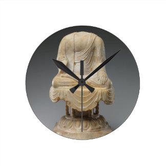 Reloj Redondo Mediano Buda sin cabeza - dinastía Tang (618-907)