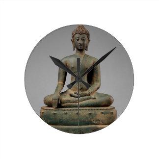 Reloj Redondo Mediano Buda - Tailandia asentados