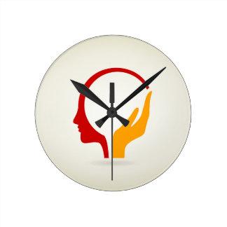Reloj Redondo Mediano Cabeza