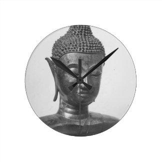 Reloj Redondo Mediano Cabeza de Buda - siglo XV - Tailandia