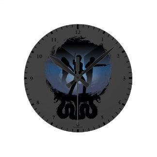 Reloj Redondo Mediano Cámara de Harry Potter el | de silueta de los