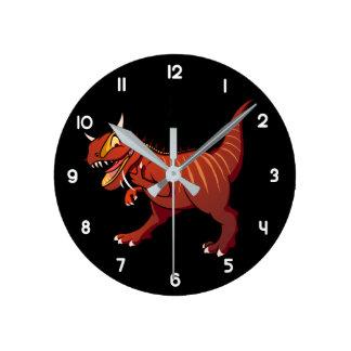 Reloj Redondo Mediano Carnotaurus