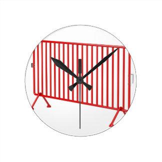Reloj Redondo Mediano Cerca móvil roja