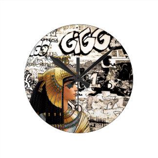Reloj Redondo Mediano Cleopatra