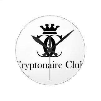 Reloj Redondo Mediano Club de Cryptonaire