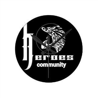 Reloj Redondo Mediano Comunidad de los héroes