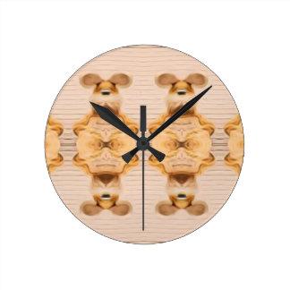 Reloj Redondo Mediano Conejitos Trippy