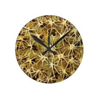 Reloj Redondo Mediano conexiones del cerebro visualizadas