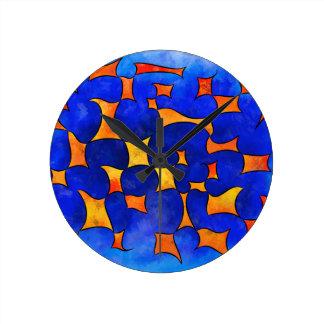Reloj Redondo Mediano Cubos de fusión de Blesmios V1-