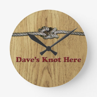 Reloj Redondo Mediano De Dave del nudo CORTOCIRCUITO aquí -