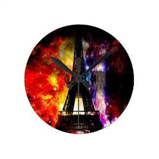 Reloj Redondo Mediano De la subida sueños parisienses otra vez