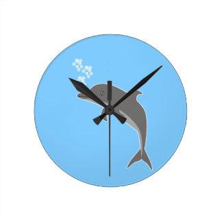 Reloj Redondo Mediano Delfín