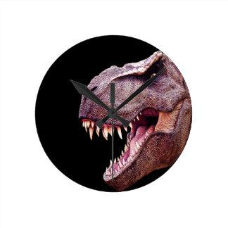 Reloj Redondo Mediano Dinosaurios T-Rex
