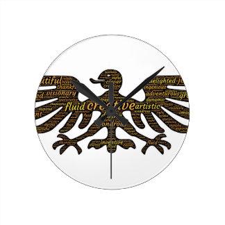 Reloj Redondo Mediano Eagle