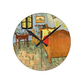 Reloj Redondo Mediano El dormitorio de Van Gogh