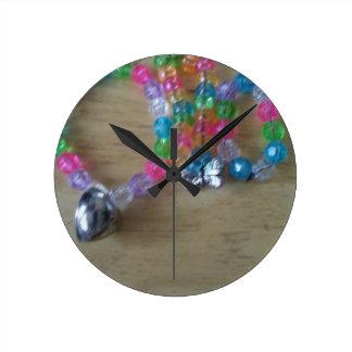 Reloj Redondo Mediano el hogar hizo braclets moldeados