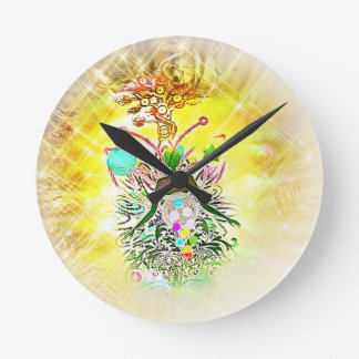 Reloj Redondo Mediano El mago