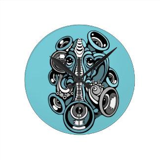 Reloj Redondo Mediano elefante de la música