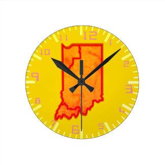 Reloj Redondo Mediano En las zonas