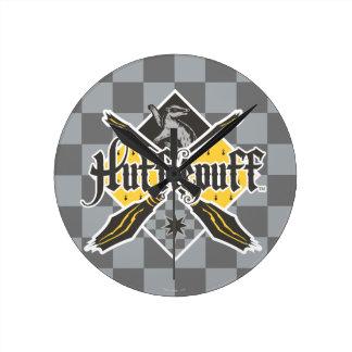 Reloj Redondo Mediano Escudo de Harry Potter el | Gryffindor QUIDDITCH™