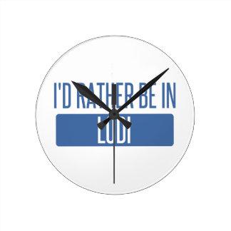 Reloj Redondo Mediano Estaría bastante en Lodi