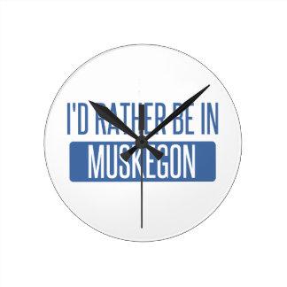 Reloj Redondo Mediano Estaría bastante en Muskegon