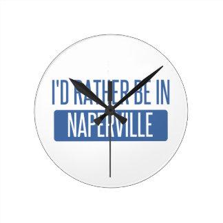 Reloj Redondo Mediano Estaría bastante en Naperville
