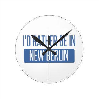 Reloj Redondo Mediano Estaría bastante en nueva Berlín