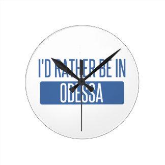 Reloj Redondo Mediano Estaría bastante en Odessa