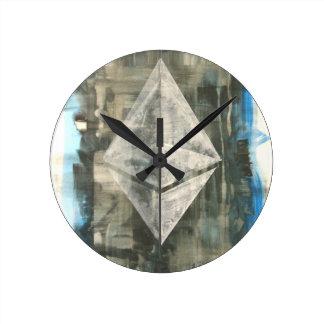 Reloj Redondo Mediano Ethereum