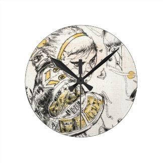 Reloj Redondo Mediano Figura juguete