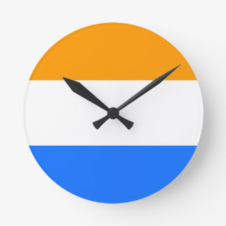 Reloj Redondo Mediano Flag de príncipe