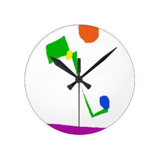 Reloj Redondo Mediano Flojo