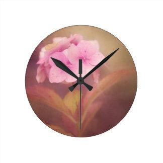 Reloj Redondo Mediano flor