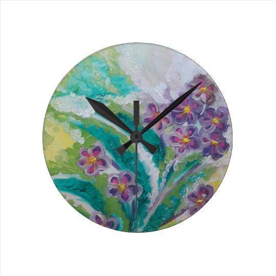 Reloj Redondo Mediano Flor de la flor