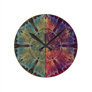 Reloj Redondo Mediano Galón frondoso