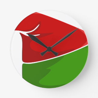 Reloj Redondo Mediano Gorra del duende
