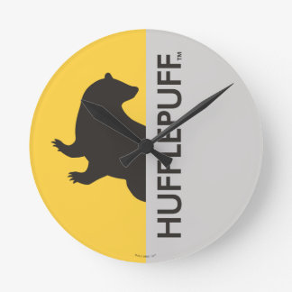 Reloj Redondo Mediano Gráfico del orgullo de la casa de Harry Potter el