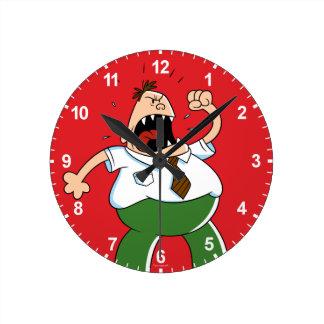Reloj Redondo Mediano Griterío principal de capitán Underpants el |